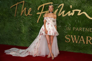 Poppy Delevingne 2017 London Fashion Awards